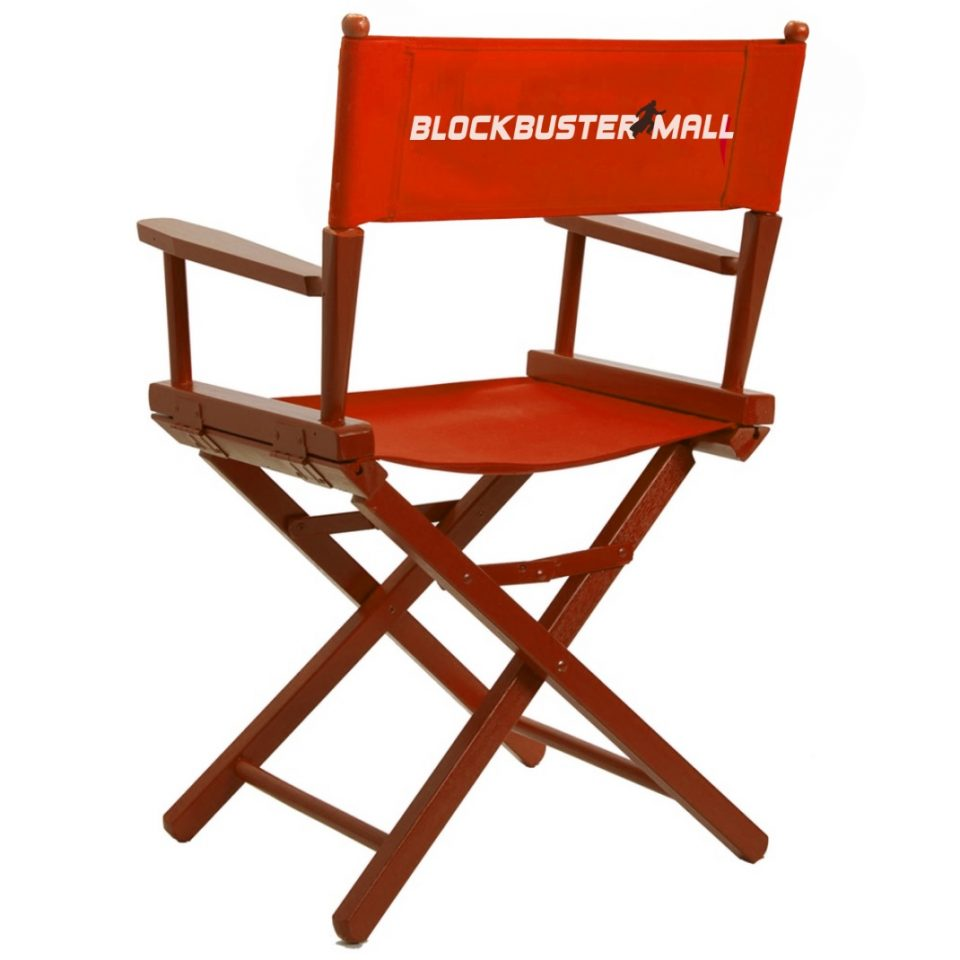 Chair - Ребрендинг Blockbuster Mall от Nebo ideas agency