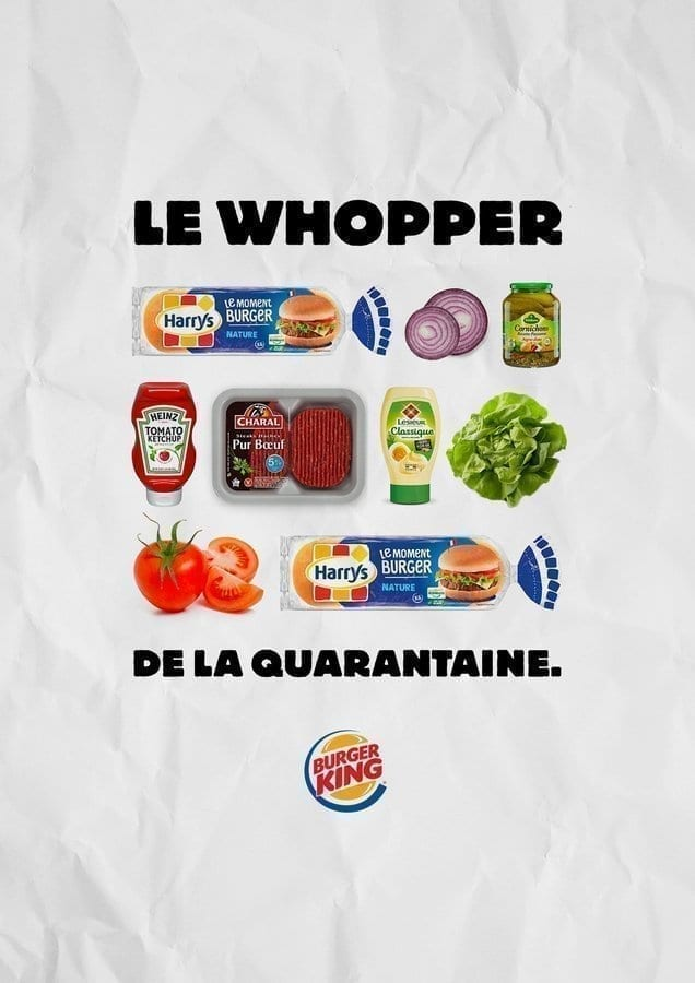 BURGER KING FRANCE «Homemade Whopper»